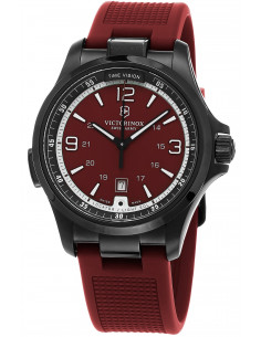 Chic Time | Montre Homme Victorinox Night Vision 241717 Rouge  | Prix : 699,00 €