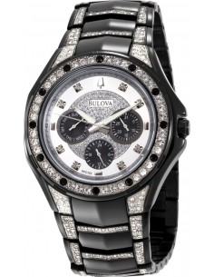 Chic Time   Montre Homme Bulova Cristal 98C102    Prix : 342,50€