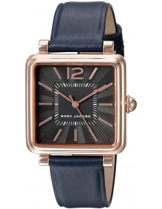 Chic Time | Montre Marc Jacobs VIC MJ1523 Bracelet cuir bleu  | Prix : 263,20€