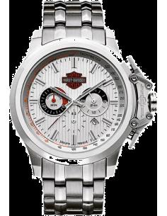 Chic Time | Montre Homme Bulova Harley Davidson Chronographe 76B151  | Prix : 359,90€