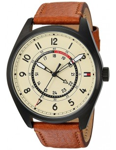 Chic Time | Montre Homme Tommy Hilfiger Sport 1791372 Brun  | Prix : 259,00€