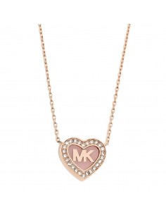 Chic Time   modèle - Collier Michael Kors MKJ5072791 coeur avec strass    Prix : 79,20€