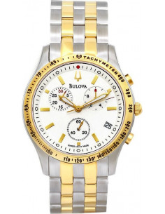 Chic Time | Montre Homme Bulova Chronographe Tachymètre 65B126   | Prix : 431,25€