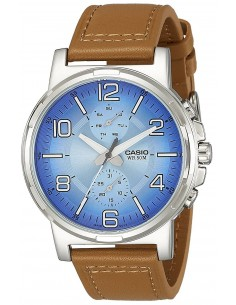 Chic Time | Montre Homme Casio Collection MTP-E313L-2B2V Brun  | Prix : 129,00 €