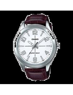 Chic Time | Montre Homme Casio Collection MTP-VX01L-7BUDF Brun  | Prix : 29,40€