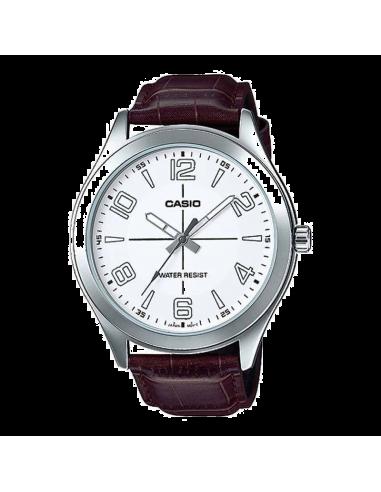 Chic Time | Montre Homme Casio Collection MTP-VX01L-7BUDF Brun  | Prix : 49,00€