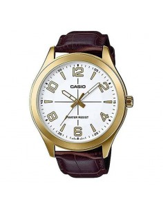 Chic Time | Montre Homme Casio Collection MTP-VX01GL-7BUDF Brun  | Prix : 29,40 €