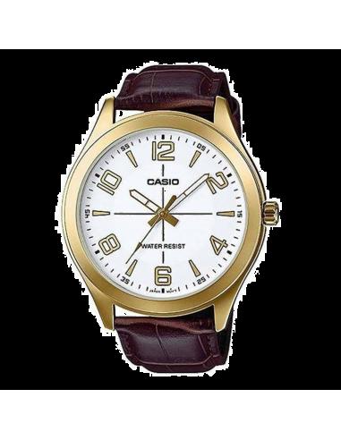 Chic Time | Montre Homme Casio Collection MTP-VX01GL-7BUDF Brun  | Prix : 29,40€