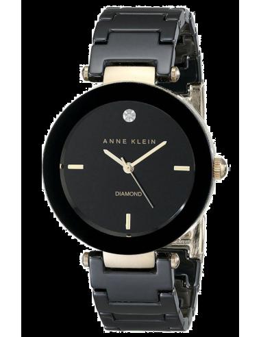 Chic Time | Montre Anne Klein Céramique AK/1018BKBK Noire  | Prix : 109,00€