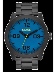 Chic Time | Montre Homme Nixon Corporal A346-2755 Noir  | Prix : 319,00€