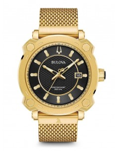 Chic Time | Montre Homme Bulova 97B163 Or  | Prix : 1,419.00