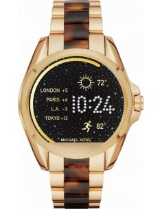 Chic Time | Montre Connectée Femme Michael Kors Access MKT5003 Or / Ecaille  | Prix : 296,10 €