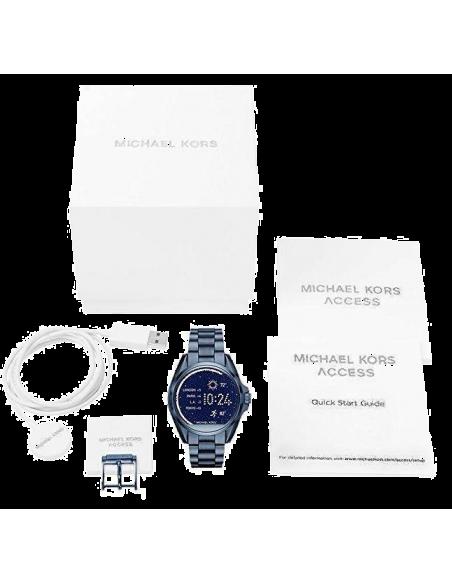 Chic Time | Montre Connectée Femme Michael Kors Access MKT5006 Bleu  | Prix : 399,00€