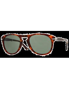 Chic Time | Lunettes de soleil Persol Steve McQueen pliable PO0714 24/31 Ecailles  | Prix : 125,40€