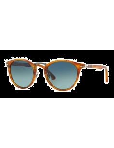 Chic Time | Lunettes de soleil Persol PO3108S 960/S3 Striped Brown  | Prix : 150,00€