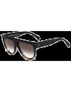 Chic Time | Lunettes de soleil femme Céline Shadow CL 41026/S FU5 5I Noir/Ecaille Kim Kardashian  | Prix : 219,00€