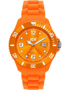 Chic Time | Ice Watch  - Montre Ice Watch Sili Forever SI.OE.B.S.09 Bracelet silicone orange  - Prix : 55,00 €