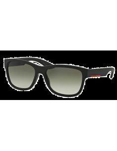 Chic Time | Lunettes de soleil Prada Linea Rossa PS03QS DG00A7 Black Rubber  | Prix : 90,00€