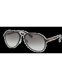 Chic Time | Lunettes de soleil Prada Linea Rossa PS05RS DG00A7 Black Rubber  | Prix : 108,00€
