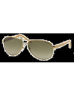 Chic Time | Lunettes de soleil Ralph RA4004 101/13 Gold/Cream  | Prix : 100,00€
