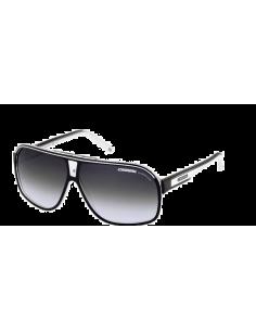 Chic Time | Lunettes de soleil Carrera Grand Prix 2 T4M 9O Noir/Blanc  | Prix : 77,40€