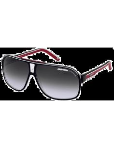 Chic Time | Lunettes de soleil Carrera Grand Prix 2 T4O 9O Noir/Rouge  | Prix : 77,40€