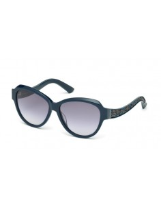 Chic Time | Lunettes de soleil femme Swarovski SK0111 91W Bleue  | Prix : 233,00€