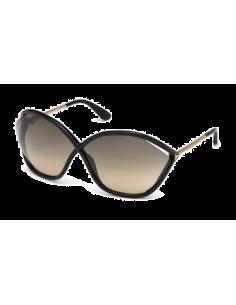 Chic Time | Lunettes de soleil Tom Ford FT0529 01B Bella  | Prix : 174,00€