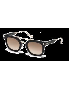 Chic Time | Lunettes de soleil Tom Ford FT0541 01F Alex-02  | Prix : 204,00€