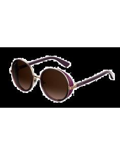 Chic Time | Lunettes de soleil femme Jimmy Choo Andie/N/S 1KJ V6 Violet  | Prix : 375,00€
