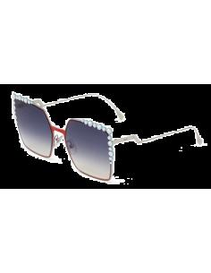Chic Time | Lunettes de soleil femme Fendi Can Eye Rouge  | Prix : 450,00€