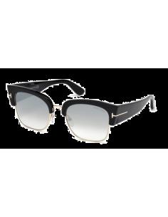 Chic Time | Lunettes de soleil femme Tom Ford FT0554S 01C Noir  | Prix : 204,00€