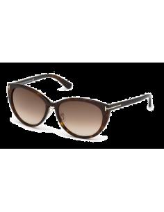 Chic Time | Lunettes de soleil femme Tom Ford Gina FT0345 Ecaille  | Prix : 171,00€