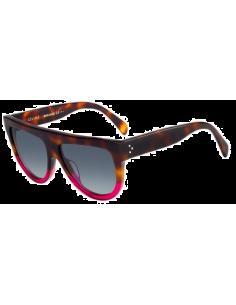 Chic Time | Lunettes de soleil femme Céline Shadow CL 41026/S 23A HD Ecaille/Rose  | Prix : 195,00€