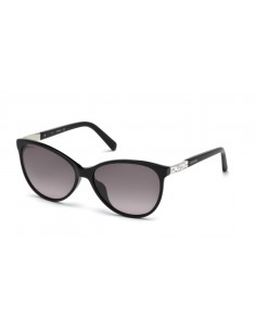 Chic Time | Lunettes de soleil femme Swarovski SK0123-H 01B Noir  | Prix : 175,00€