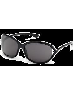 Chic Time | Lunettes de soleil femme Tom Ford Jennifer FT0008 01B Noir  | Prix : 162,00€