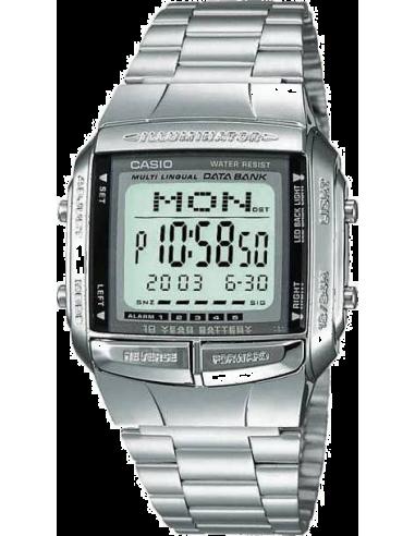 Chic Time | Montre Homme Casio Data Bank DB-360N-1AEF Argent  | Prix : 39,00€