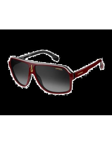 Chic Time   Lunettes de soleil Carrera 1001 S 0A4 9O Noir Rouge   f9e686c01ab1