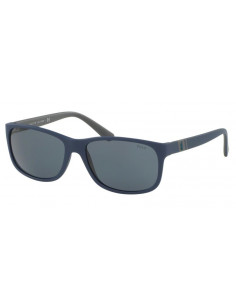 Chic Time | Lunettes de soleil homme Polo Ralph Lauren PH4109 559087 Bleu  | Prix : 81,00€