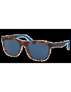 Chic Time | Lunettes de soleil homme Polo RAlph Lauren PH4120 561980 Ecaille/Bleu  | Prix : 72,00€