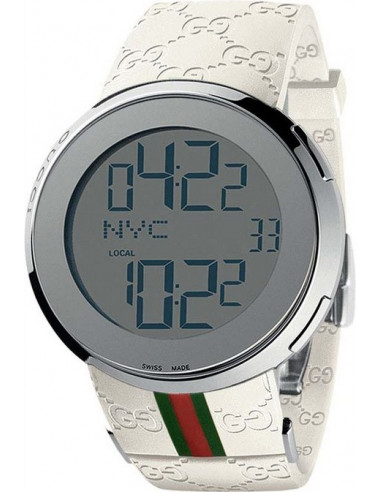 Chic Time   Montre Homme Gucci 114 I-Gucci YA114214 Bracelet Blanc    Prix : 950,00€