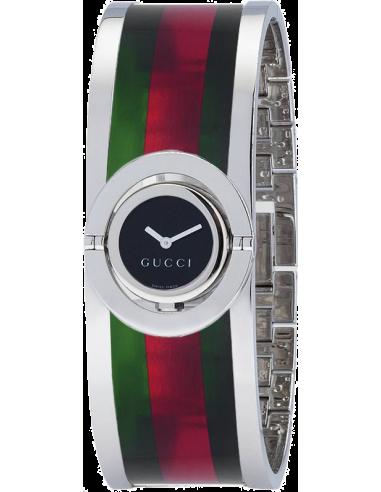 Chic Time   Montre Femme Gucci Twirl YA112517    Prix : 590,00€