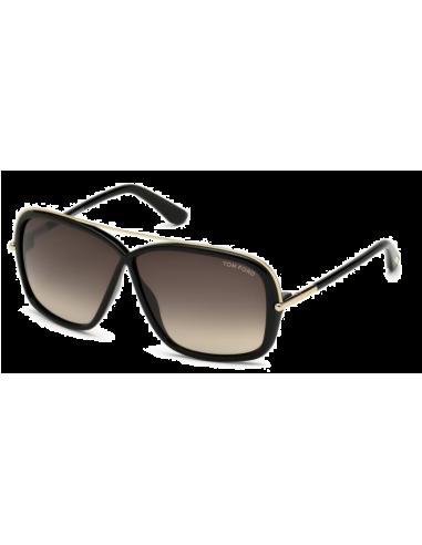 ded97cf87f Chic Time | Lunettes de soleil femme Tom Ford TF455 01K Noir | Prix : 165