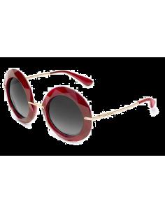 Chic Time   Lunettes de soleil Dolce   Gabbana DG6105 1551 11 Rouge   Prix 7e9edf9eadc1