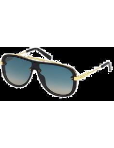 Chic Time | Lunettes de soleil Homme Dsquared2 DQ0271 01W Noir/Or  | Prix : 210,00€