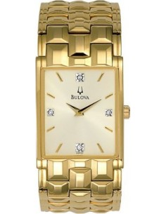 Chic Time | Montre Homme Bulova Collection Diamand 97F57  | Prix : 210,90€