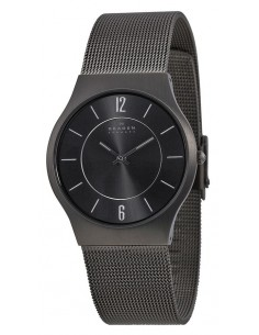 Chic Time | Montre Homme Skagen Slimline 233LTTM Montre en Titane  | Prix : 69,50€