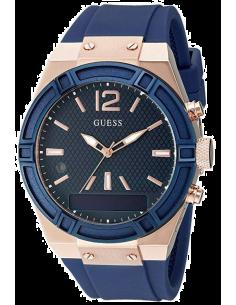 Chic Time   Montre Connectée Guess Connectée C0002M1 Bracelet en silicone Montre smartwatch    Prix : 449,00€