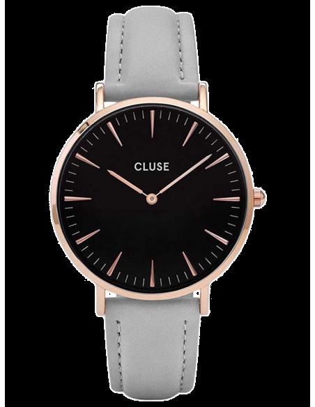 Chic Time | Montre Femme Cluse La Bohème CL18018 Bracelet Cuir Gris  | Prix : 62,97€