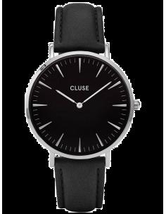 Chic Time | Montre Cluse La Bohème CL18201 Bracelet en cuir noir  | Prix : 58,47€